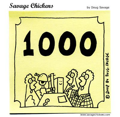 1000chickens